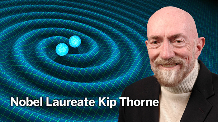 Nobel Laureate Kip Thorne