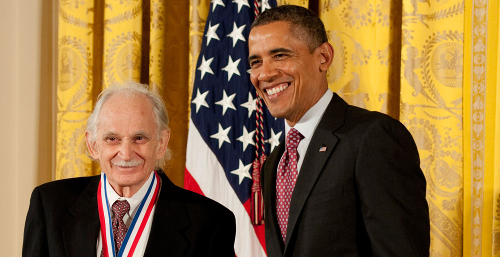 Al Bard Receives the National Medal of Science at the White House