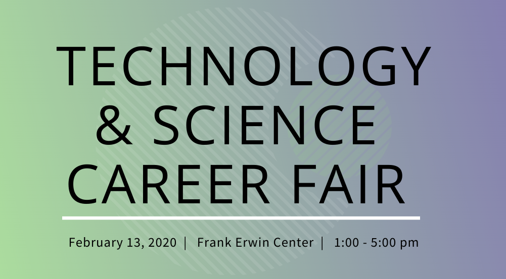 Career fair Technology & Science Career Fair