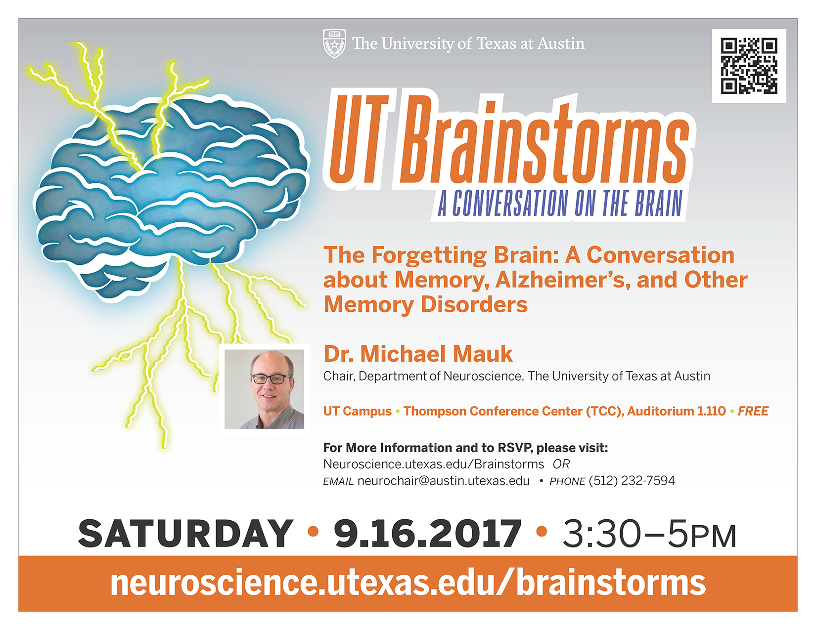 UT Brainstorms flyer