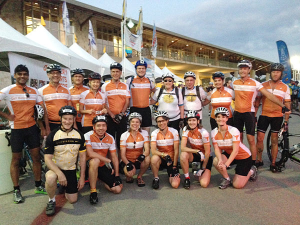 UT Team at Livestrong Challenge