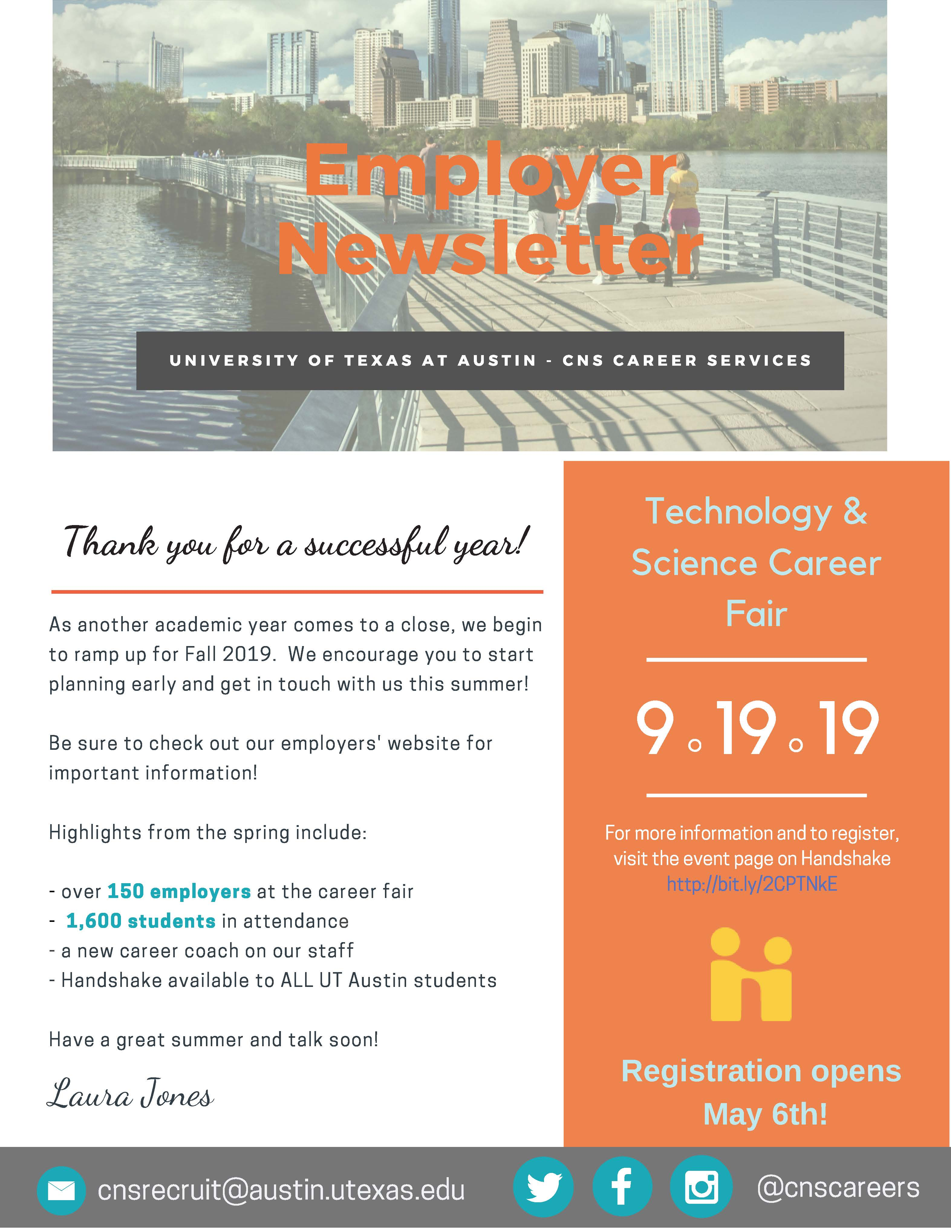 Employer Newsletter FINAL Page 1