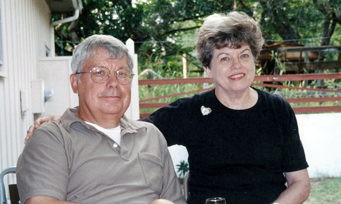 Dr. Peter Antoniewicz and his wife Susan