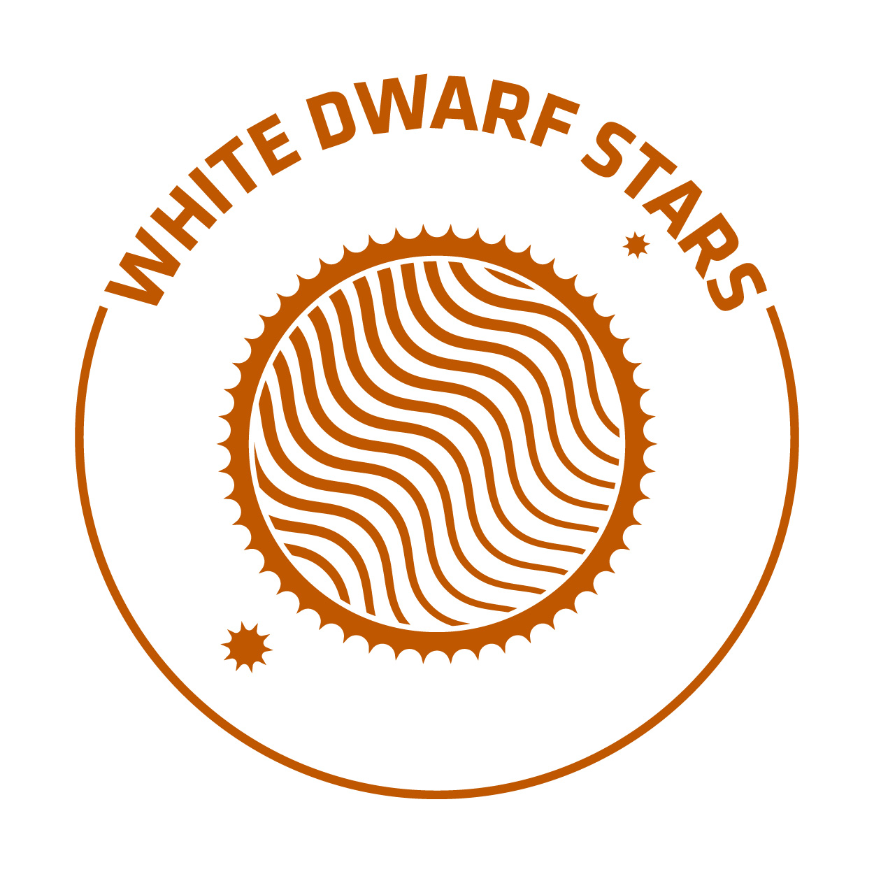 white dwarf stars RGB orange nickname