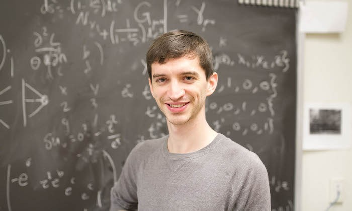 Grad Student Aims to Shape Understanding of Universe
