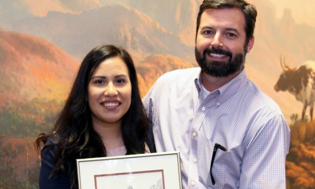With a Focus on Others, Graduate Lands Campus-Wide Awards