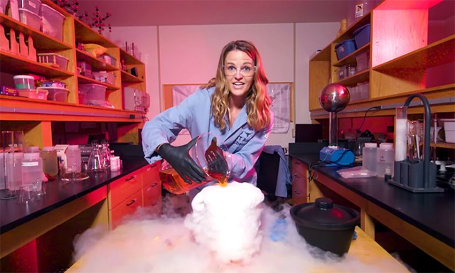 Chemistry Lecturer's Science Demonstrations Ignite STEM Interest