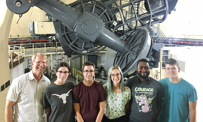 Trip to McDonald Observatory Inspires FRI Student