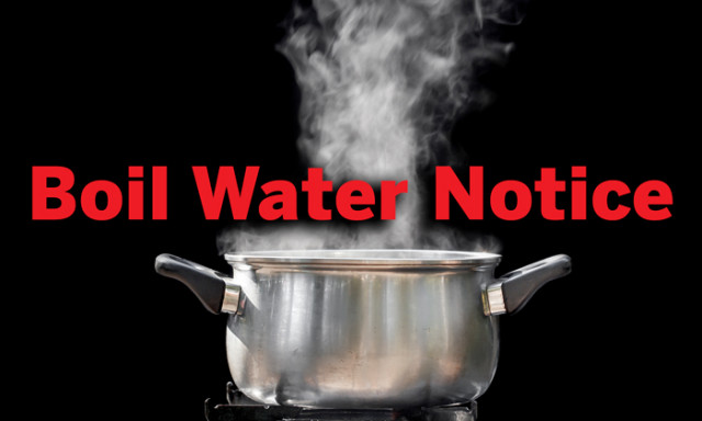Campus and City-Wide Boil Water Notice Issued