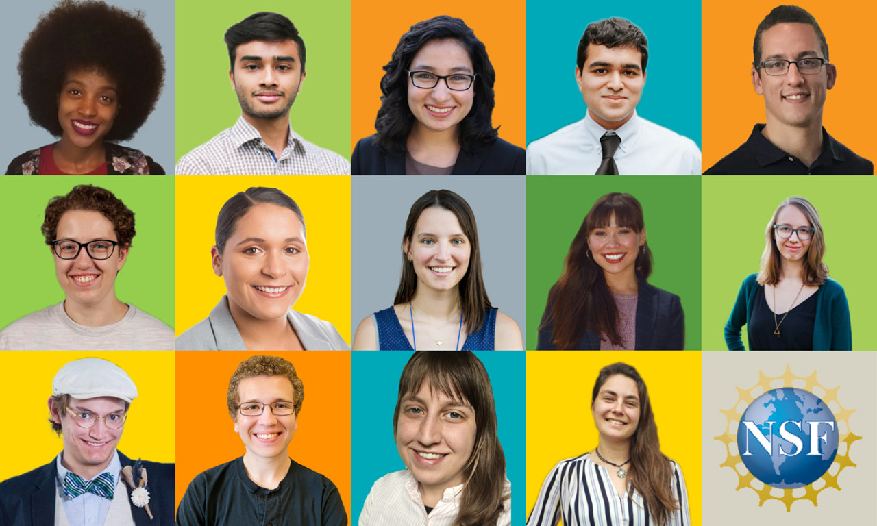 14 Natural Sciences Students Receive Prestigious NSF Fellowships