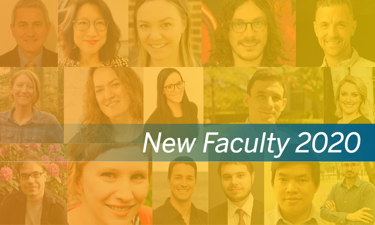 The College Welcomed New Faculty in 2020