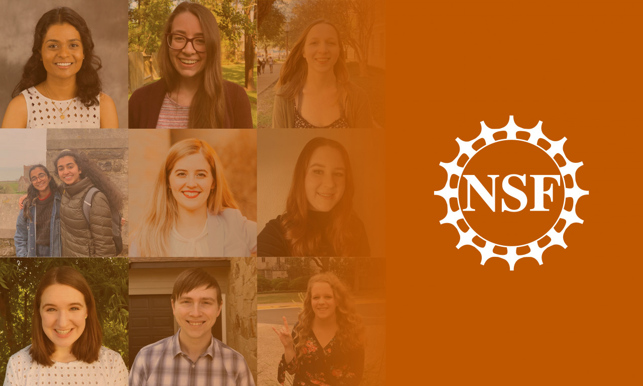 NSF Awards 13 CNS Students and Alumni Graduate Research Fellowships