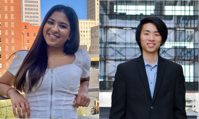 Two Natural Sciences Undergraduates Selected as Goldwater Scholars