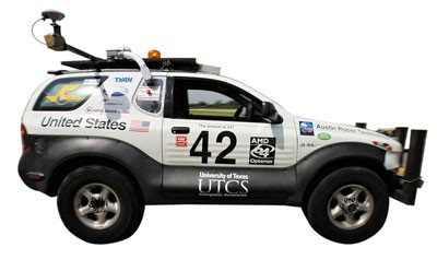 Self-Driving SUV Advances to DARPA Urban Challenge Semifinals