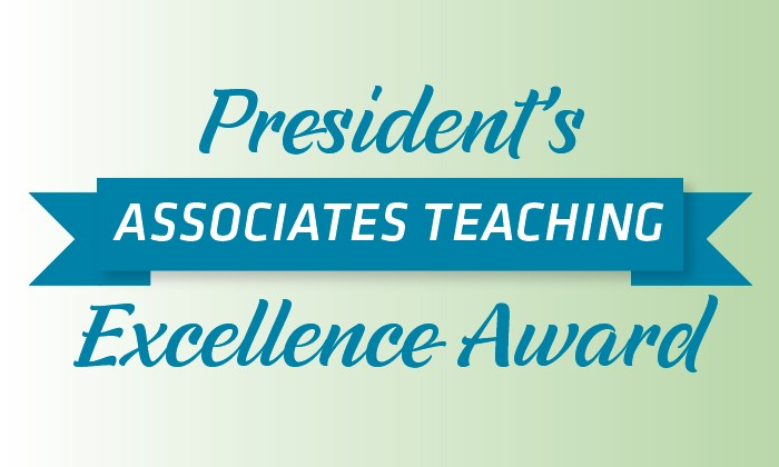 Three Natural Sciences Faculty Selected to Receive President's Associates Teaching Excellence Awards
