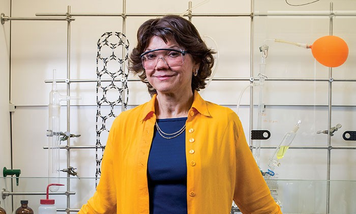 Alumna Donna Nelson on Chemistry and Breaking Bad