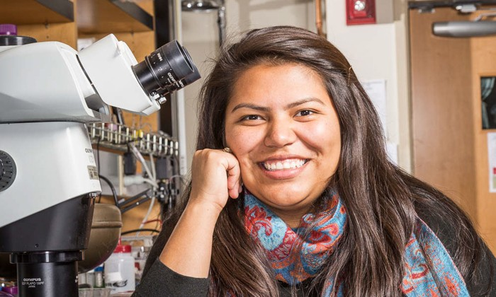 Freshman Research Initiative Alum Spotlight: Elvira Marquez