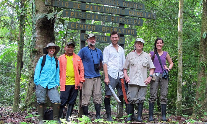Graduate Student Leads Field Trip into the Infamous Darien Gap
