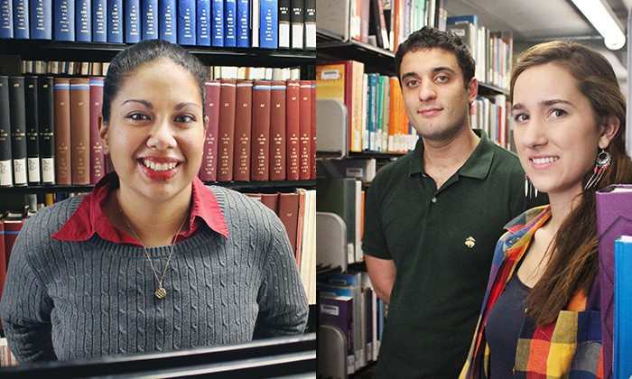 Harrington Fellowship Supports Three Natural Sciences Graduate Students