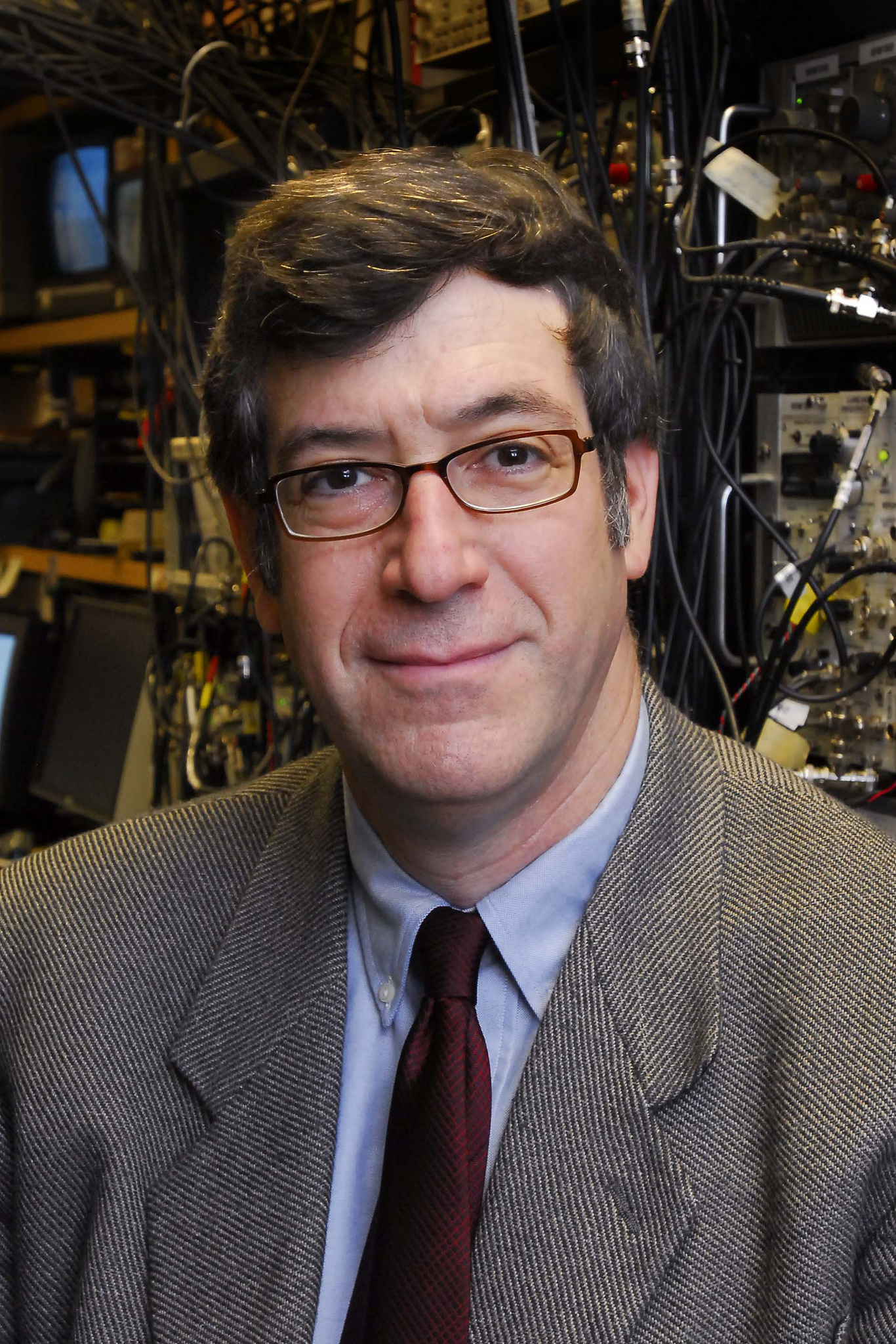 Mark Raizen, professor of Physics.