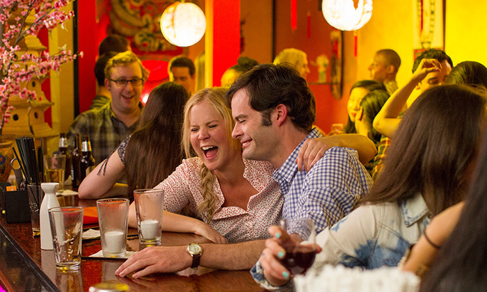 Scene from the movie Trainwreck