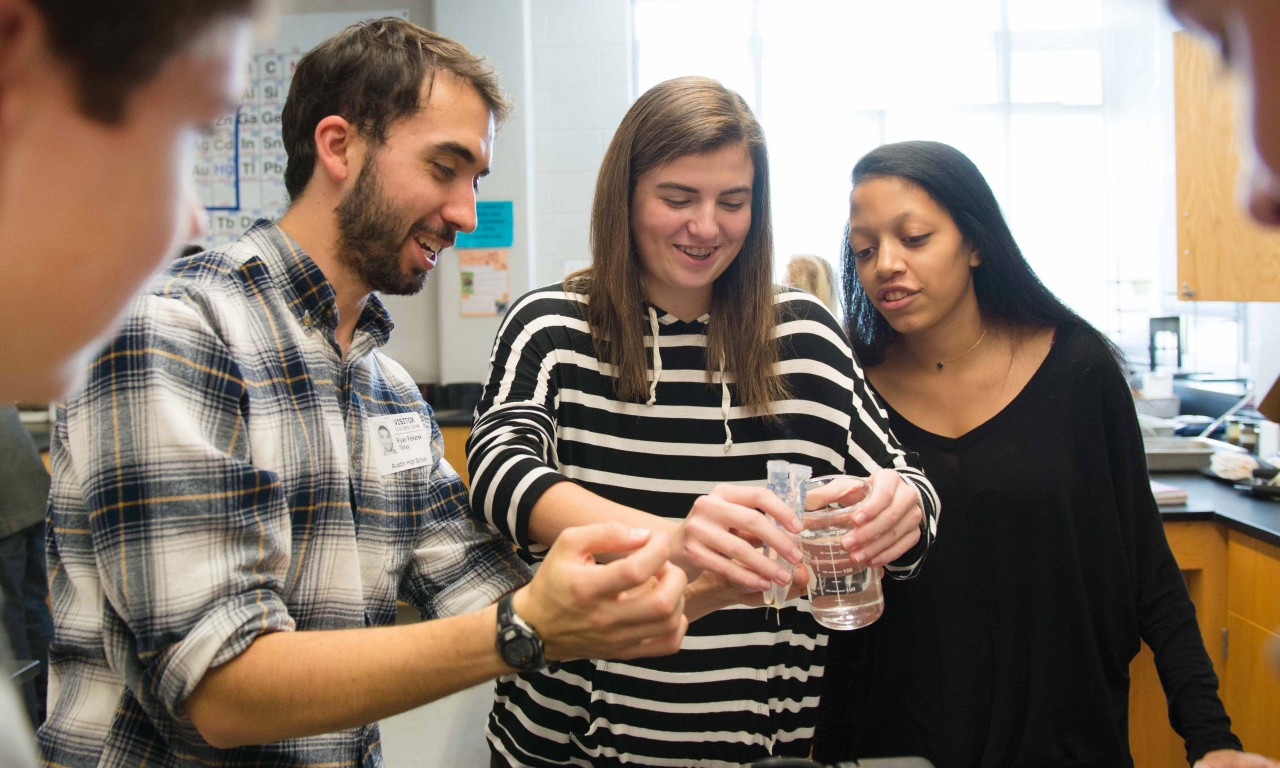 Chemistry Outreach Program Promotes Sustainability, Love of Science