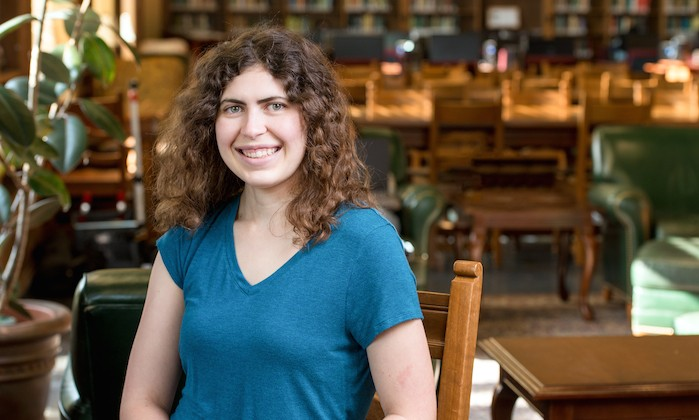 Ashlie Martinez Earns Outstanding Undergraduate Researcher Award