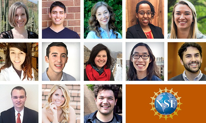 NSF Awards 21 CNS Students and Alumni Graduate Research Fellowships