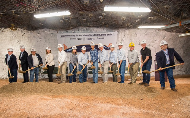Construction Begins on International Neutrino Facility