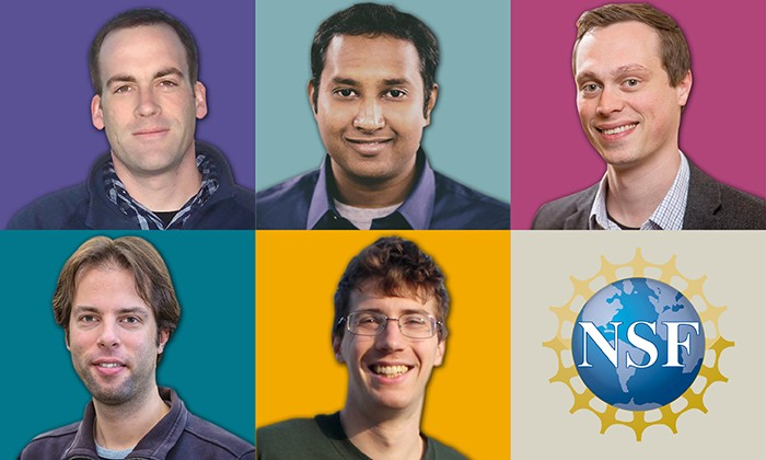 Five Natural Sciences Faculty Receive NSF CAREER Awards