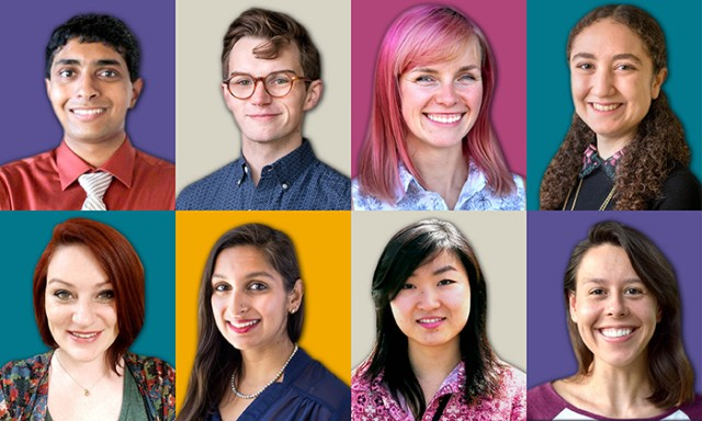 Eight students receive prestigious NSF Graduate Research Fellowships