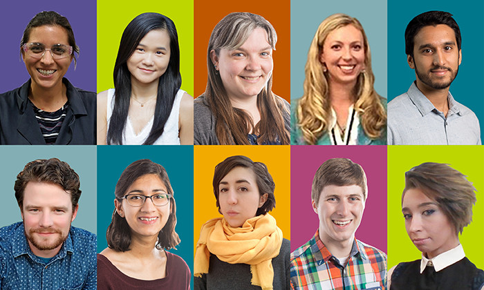 Ten Students Receive Prestigious Federal Graduate Research Awards