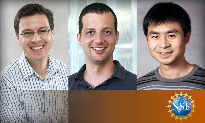 Faculty Members Receive Prestigious NSF CAREER Awards