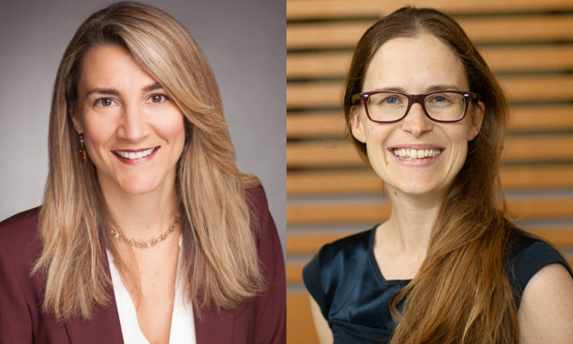 Two CNS Faculty Receive President's Associates Teaching Excellence Awards