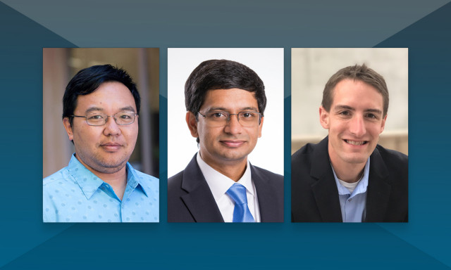 Three Natural Sciences Faculty Receive NSF CAREER Awards