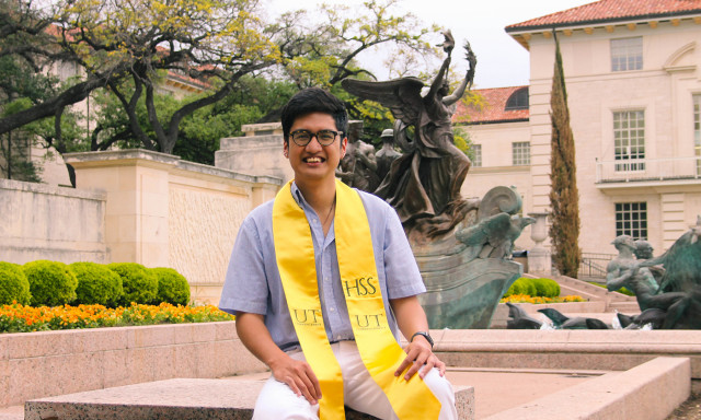 Graduating Researcher and Student Leader Grateful for Mentorship and Support