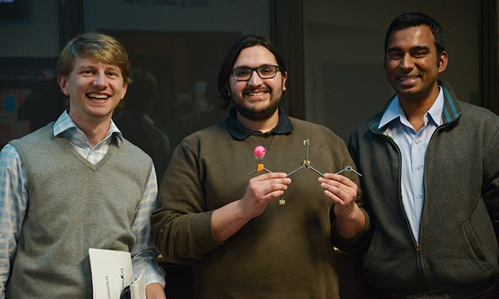 Graduate Students from Chemistry and Molecular Biosciences Compete for Venture Capital Prize