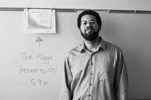 New Physics Professor Talks About Finding the Higgs Boson