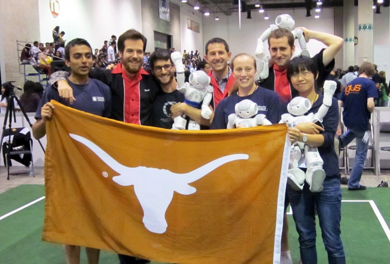 University of Texas at Austin Team Wins Robot Soccer World Championships in Two Divisions