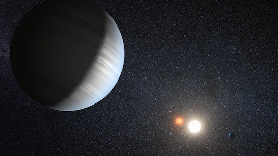 NASA, Texas Astronomers Find First Multi-Planet System around a Binary Star