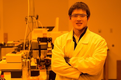 Chemistry Major Wade Wang Is Helping to Build a Better Microchip